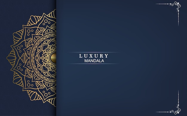 高級黄金マンダラ華やかな背景、アラベスクスタイル。