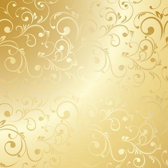 Роскошный золотой фон обоев