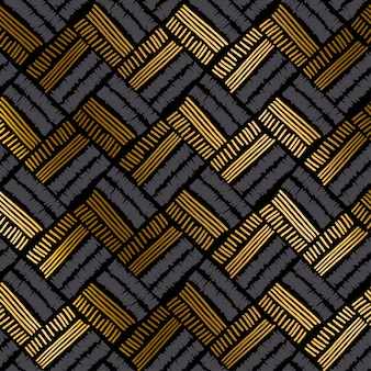 Luxury hand drawn seamless pattern