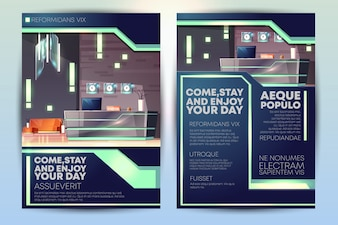 Hotel Flyer Vectors Photos And Psd Files Free Download