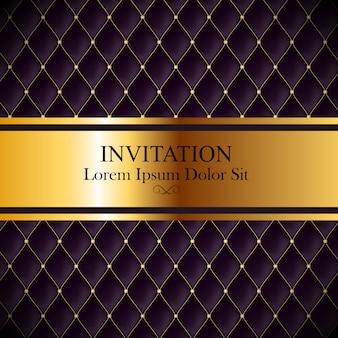 Luxury invitation template