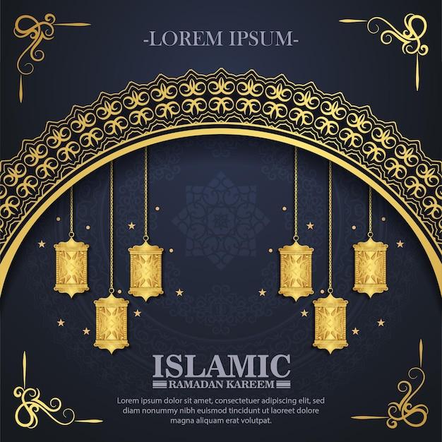 Luxury islamic background