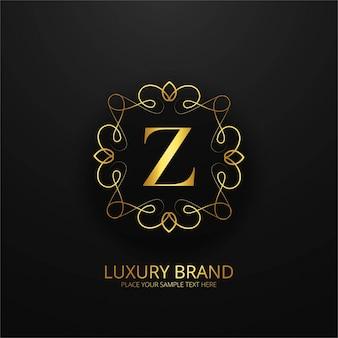 Luxury letter z logo