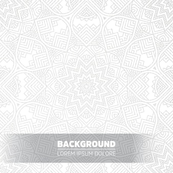 Luxury light mandala background