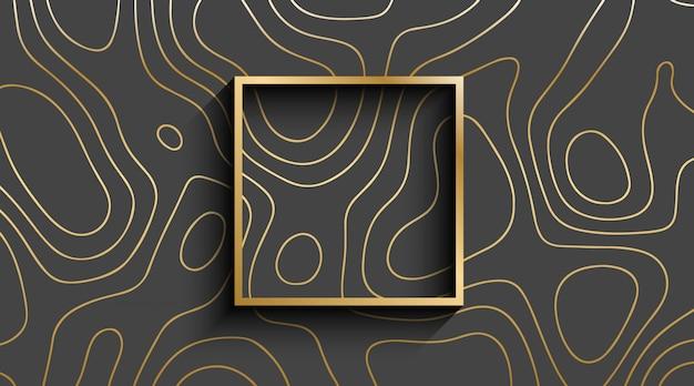 Luxury line art background