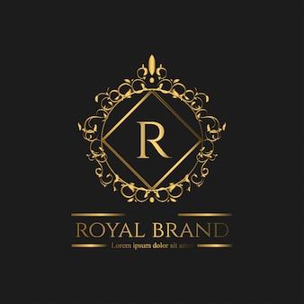 Luxury lion logo
