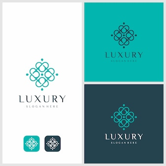 Luxury logo design inspiration. beauty, fashion, salon