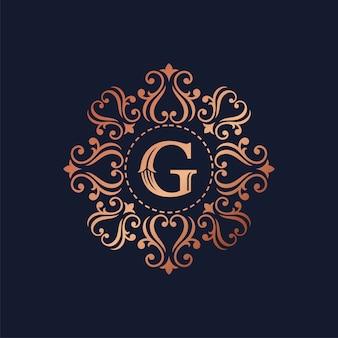 Роскошный шаблон логотипа