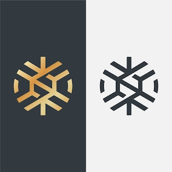 Luxury logo in two versions