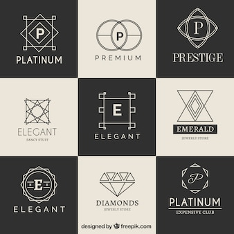 Luxury logotype collection