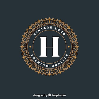 Luxury logotype template
