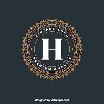 Luxury logotype template
