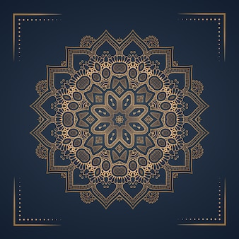Luxury mandala background for book cover, wedding invitation.