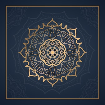 Luxury mandala background for book cover