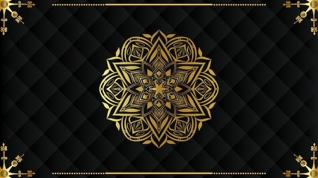 Luxury mandala background design