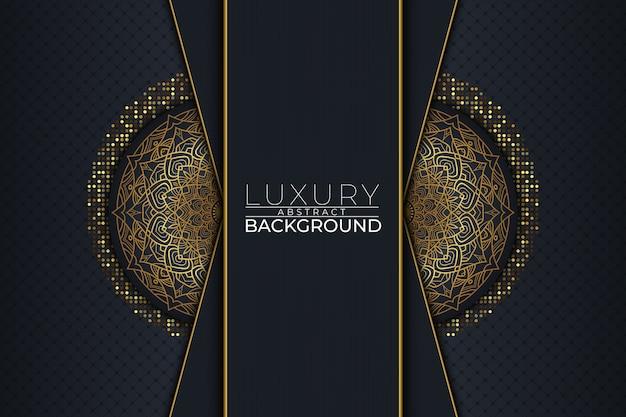 Luxury mandala background style