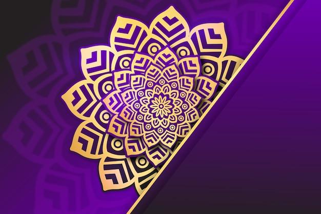 Luxury mandala background theme