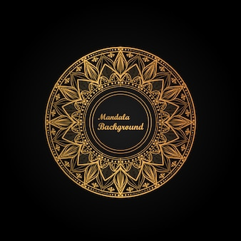 Luxury mandala background with modern arabesque art