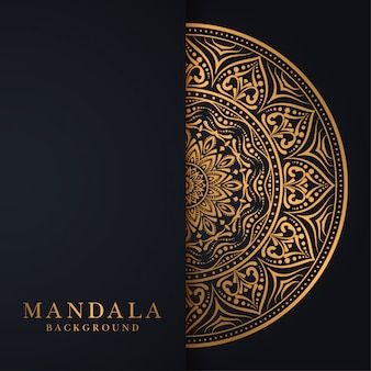 Luxury mandala background with modern arabesque