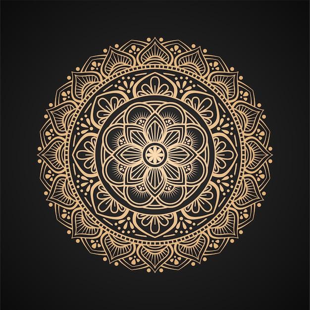 豪華な曼荼羅の背景