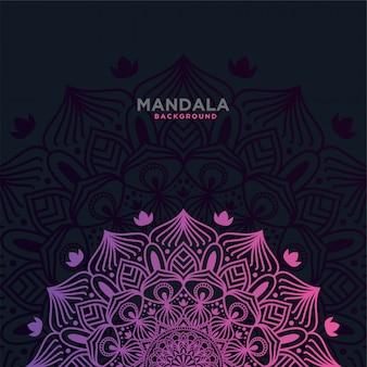 Luxury mandala background