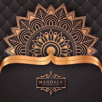 Luxury mandala decorative ethnic element background