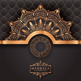 Luxury mandala decorative ethnic element background