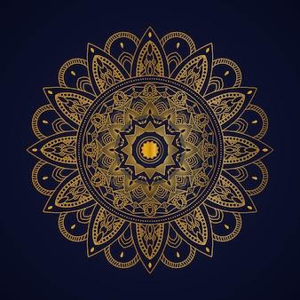 Luxury mandala illustration concept