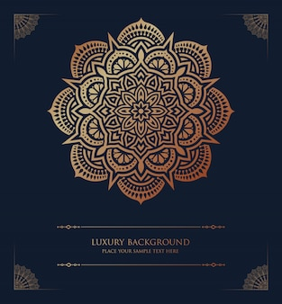 Luxury mandala islamic background