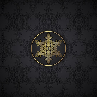 Luxury mandala pattern background