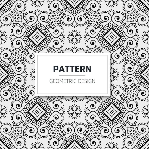 Luxury mandala pattern. geometric design