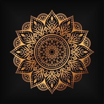Luxury mandala pattern