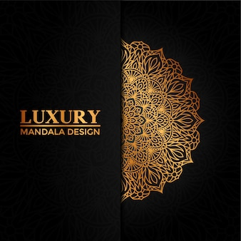 Luxury mandala vector  hand drawn circular geometric element for henna, mehndi, tattoo, decoration, textile, pattern, invitation background