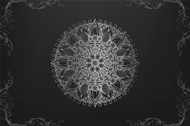 Luxury mandala wallpaper