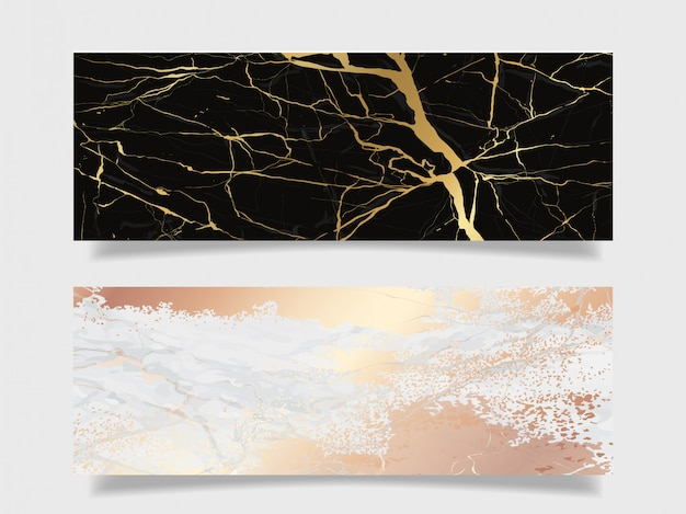 Luxury marble texture background collection