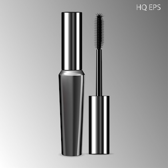 Luxury mascara silver package