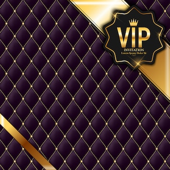 Luxury members, gift card vip invitation background