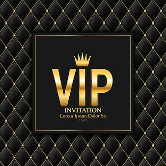 Luxury members, gift card vip invitation