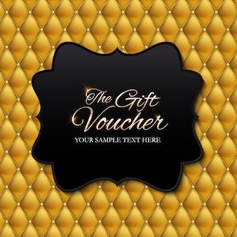 Luxury members, gift voucher