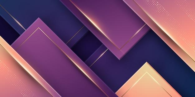Luxury modern abstract geometric background.