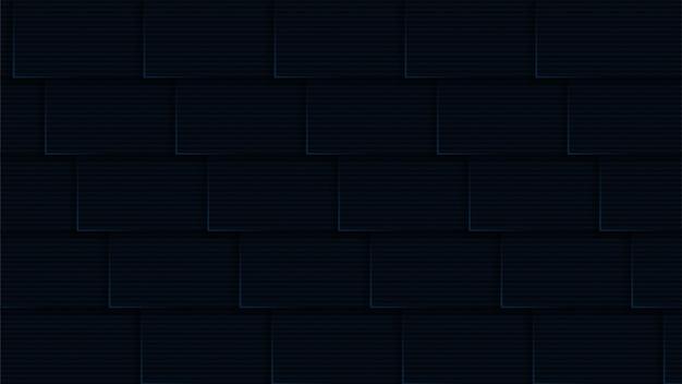 Luxury modern background with geometric shape dark navy color theme premium vector
