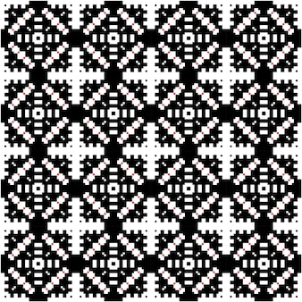 モチーフスタイルの背景を持つ豪華なモザイクパターン