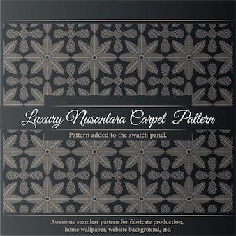 Luxury nusantara pattern. seamless fabric print.