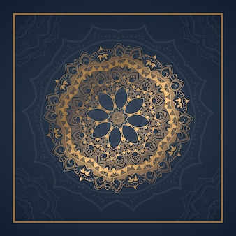 Luxury ornament mandala background