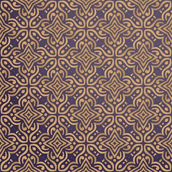 Luxury ornamental background in gold color