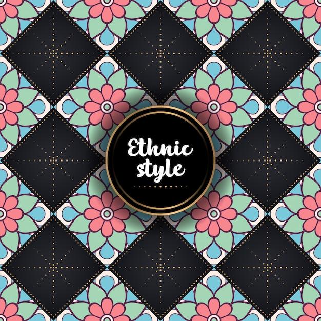 Luxury ornamental ethnic pattern