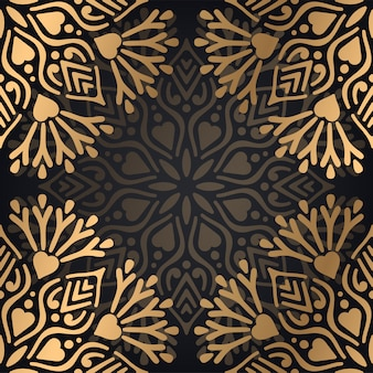 Luxury ornamental mandala background