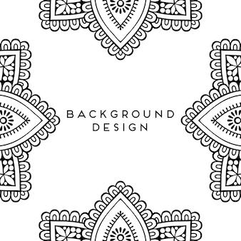 Luxury ornamental mandala background