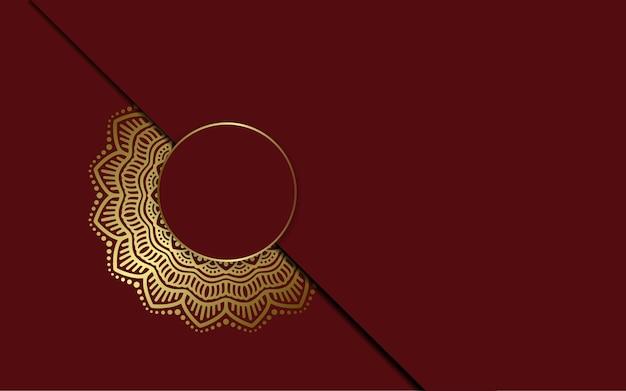 豪華な装飾用曼荼羅の背景