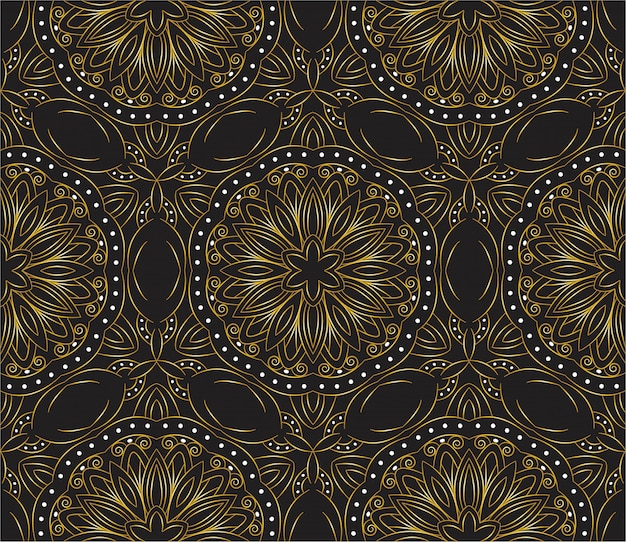 Luxury ornamental mandala design abstract background